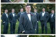 Real Weddings | President Tuxedo / A collection of some of our favorite real weddings! Love how awesome these guys make our tuxedos look. #realweddings