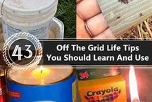 Survival Hax -Off the Grid Living / Tips for living off the grid. Lot's of DIY projects, ways to farm and prepare meals while living off the grid. For more info on getting yourself off the grid, visit the Survival Hax Blog.
