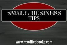 SMALL BUSINESS TIPS / My Office Books writes useful articles and curates helpful small business tips on this board to help educate and ensure your success.
