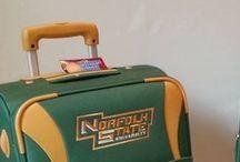 NSU Luggage And Backpacks / Green college luggage