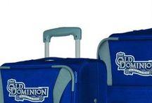 Old Dominion University Luggage and Backpacks / Blue sports luggage