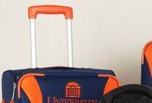 UVA University of Virginia Luggage and Backpacks / Blue college luggage