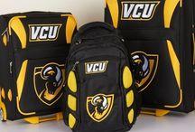 VCU Virginia Commonwealth University Luggage and Backpacks / Black luggage and backpack