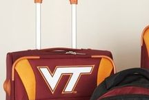 Virginia Tech Luggage and Backpacks / Red college  luggage