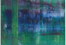 Gerhard Richter / Gerhard Richter (1932-) is a German visual artist. Richter has produced abstract as well as photorealistic paintings, and also photographs and glass pieces. His art follows the examples of Picasso and Jean Arp in undermining the concept of the artist's obligation to maintain a single cohesive style.