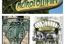 Hector Guimard / Architect Hector Guimard 1867-1942 is probably the best known representative of the Art Nouveau style of the late 19th and early 20th centuries.