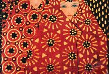 Vittorio Zecchin / Vittorio Zecchin (1878-1947) was a painter, graphic designer, designer of glass, furniture and ceramics. The visionary Italian artist did not begin his artistic career until he was over thirty years of age. He had originally abandoned his ambitions at the age of twenty-three, when, disillusioned with the narrow, unimaginative style of teaching at the Venetian Academy of Fine Arts and convinced that nobody would listen to his ideas, he left in 1901 and became a civil servant in Murano. Zecchin remained at his municipal desk for eight long years, until 1909, by which time the first whisperings of a new artistic movement in Venice had become strong enough to persuade him that there was a place for him in the creative world. Unable to contain his creative powers any longer, Zecchin joined a group of artists, who influenced by the idea of Klimt and Toorop, had pooled their ideas and began to exhibit at the Ca'Pesaro, the Museum of Modern Art, between 1908 and 1920. More info at  belindaschneider.