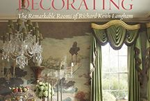 Richard Keith Langham /  Richard Keith Langham's all-American interiors unite a traditional approach with dashes of whimsy, beautiful tailoring and an exuberant color palette. He uses an incredible breadth of ideas and elements which depend on the architecture of each project, client and location.