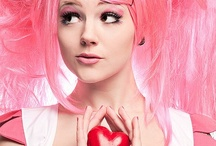 I LUST PINK HAIR / PINK HAIR it's brave and bold and SEXYY;Photos of the bold Pink haired women I found on the internett / by Jennifer Hopkins