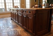 CWP Islands / Please see dealer for specific door styles and finishes.