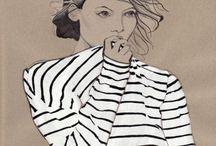 Stripes addictions / womens_fashion / by liat segal
