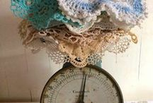 Vintage Doilies / We have an extensive collection of vintage doilies available at Southern Vintage Table!  There's pure love in a doily and they always are ready to showcase anything you put on the table for the people you love - Southern Vintage Table
