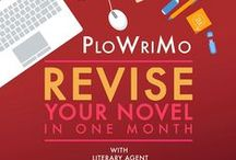 "Martha Alderson's PlotWriMo: Revise Your Novel in a Month with Literary Agent Jill Corcoran / 30 exercises to re'""vision"" the character emotional development, dramatic action and thematic significance of your story in preparation for a major rewrite. http://plotwrimo.com/ / by Martha Alderson, Plot Whisperer"