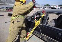 Herramienta Manual   First Responder Jack - Hi-Lift / Fotografías de entrenamientos, accidentes reales donde ha sido utilizado el First Responder Jack de Hi-Lift. Distribuido en México por EMS México