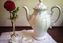 Vintage Pitchers & Teapots / Serve up your iced and hot drinks with our vintage pitchers and teapots from Southern Vintage Table!