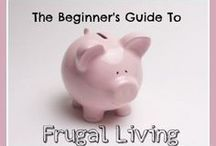 Frugal Living - Spend Less Money & Save More / Tips on how you can spend less money than you're currently spending and live frugally / by Money Crashers