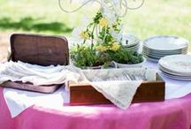 Organic Vintage Decor / These organic vintage treasures,  each with  a unique biological and manufacturing history, will add a beautiful, natural touch to a table or family event.