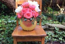 Vintage Vases / A mélange of vintage vases -  oh, so chic, elegant, fun, & whimsical!