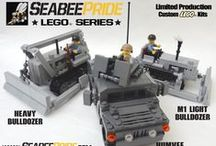Seabee Pride LEGO Series / Available at www.seabeepride.com