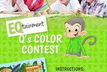 Q's Coloring Contest / Win a Free Q's Race to the Top Board Game! Have your children take part in our coloring contest for a chance to win. Click below for details.