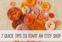 Etsy: Buisness Ideas / Tutorials and Information about selling on Etsy
