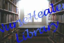 Library / BOOKS - books, CDs, DVDs, cards, MP3s - NurseHealer Library is a way of sharing materials for reading, viewing, listening and spiritual practice. -  For EACH NurseHealer TOPIC: WEB Resources, BLOG Category and PINTEREST Board -  http://www.nursehealer.com/home/topics