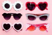 The world through pink fantasy glasses