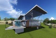Modern Concrete House Melbourne / Modern Concrete House designed by Architeria Architects in Melbourne