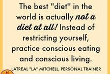 Say NO to diets / Lose weight without restrictive diets