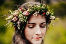 Inspiration | Flower Crowns