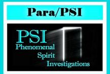 Para/PSI / PARA/PSI - paranormal phenomena and investigation, PSI, parapsychology and spirit work -  For EACH NurseHealer TOPIC: WEB Resources, BLOG Category and PINTEREST Board -  http://www.nursehealer.com/home/topics