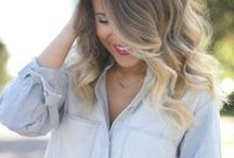 Ash ombre/hair for cool skin tone