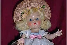 Ginny Dolls / The Vogue Doll Company produced Ginny dolls starting in the 1950's.  Mrs. Graves (the founder) was a smart business women and created these darling dolls.. / by Karen Chadwick