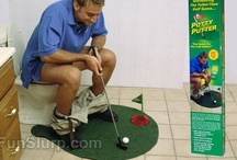 Unique Golf Gifts and Gags / Need a great gift for golfers in your life? We've got a hilarious selection of funny golf gifts that will make birthday and holiday shopping a breeze!