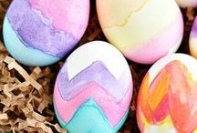 Easter / Easter activities and crafts, including lots of ideas for kids! / by Dyan (And Next Comes L)