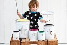 Music Activities / Fun activities and crafts to help babies, toddlers, preschoolers, and elementary kids learn and explore music.