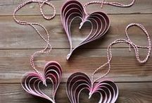 Valentine's Day / Valentine's Day crafts, activities, DIY projects, learning activities for kids, and home decor ideas / by Dyan (And Next Comes L)