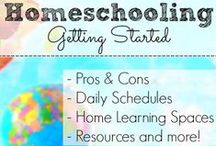 Homeschool Resources / Information, ideas, and tips for homeschool preschool co-ops and regular homeschooling