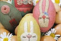 Easter and Bunnies : All Craft Styles. / by Catherine Bonser