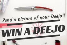 My Deejo Fan & Testimonials / Welcome to the official Pinterest page of #Deejo. This board is dedicated to Deejo Fans around the world.  Send us a picture of your Deejo pocket #knife and get a 15g FREE http://www.deejo.fr/deejo-fan-en.html .