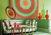 Zielone aranżacje, dekoracje