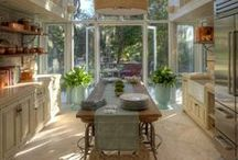 Kitchens / Designing that spot that the party always tends to be drawn to