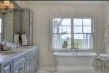 Bathrooms / Designing special private spaces