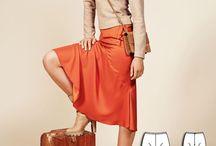 Snitmønstre Burda Style / Burda modemagasin