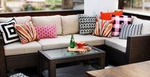 Outdoor Living / Have fun in the sun with mid-century modern outdoor living!