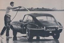 Vintage Jaguar Car Ads