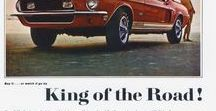 Ford / Vintage Ford Advertisements, Auto Memorabilia, Vintage Car Ads, Classic Cars, Muscle Cars