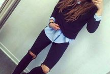 winter and fall clothes :-)