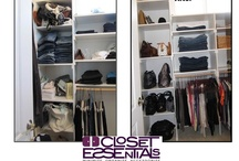 """Closet Transformations by Closet Essentials  / Closet Essentials will teach you great closet solutions and organization tips for getting organized and banishing the """"nothing to wear"""" feeling that accompanies a messy closet."""