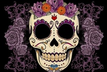 Sugar skulls & Day of the Dead / Day of the Dead and sugar skulls, Mexican folk art